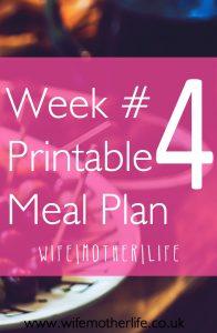 Meal Plan 4