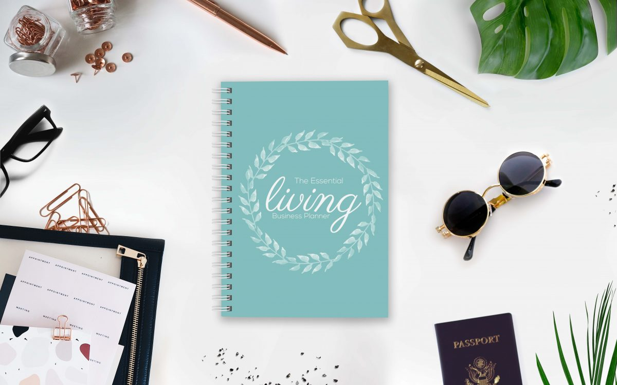 The Essential Living 12 Month Business Planner UK